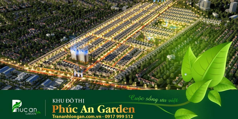 TẬP ĐOÀN TRẦN ANH Thông Tin Khu Đô Thị Phúc An Garden